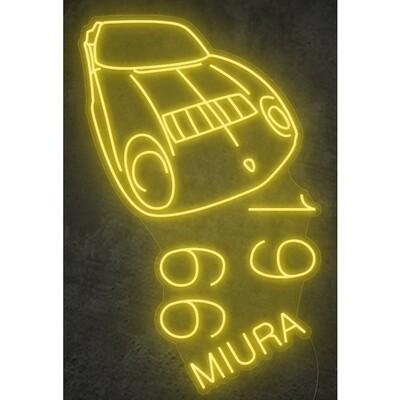 Lamborghini Miura LED-Leuchtbild 1