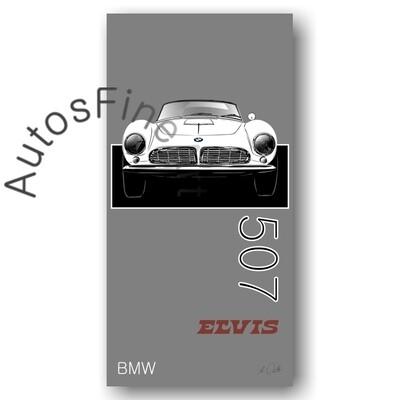 BMW 507 ELVIS - Kunstdruck No. 138named