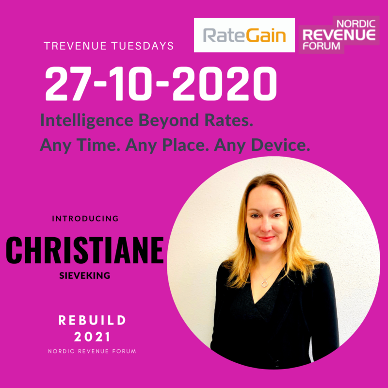 REBUILD2021 Trevenue Tuesday 27.10.2020 - Intelligence Beyond Rates.  Any Time. Any Place. Any Device