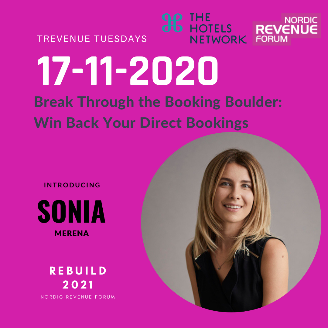 REBUILD2021 Trevenue Tuesday - Break Through the Booking Boulder: Win Back Your Direct Bookings