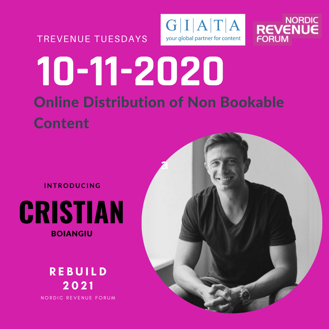 REBUILD2021 Trevenue Tuesday - Online Distribution of Non Bookable Content by GIATA