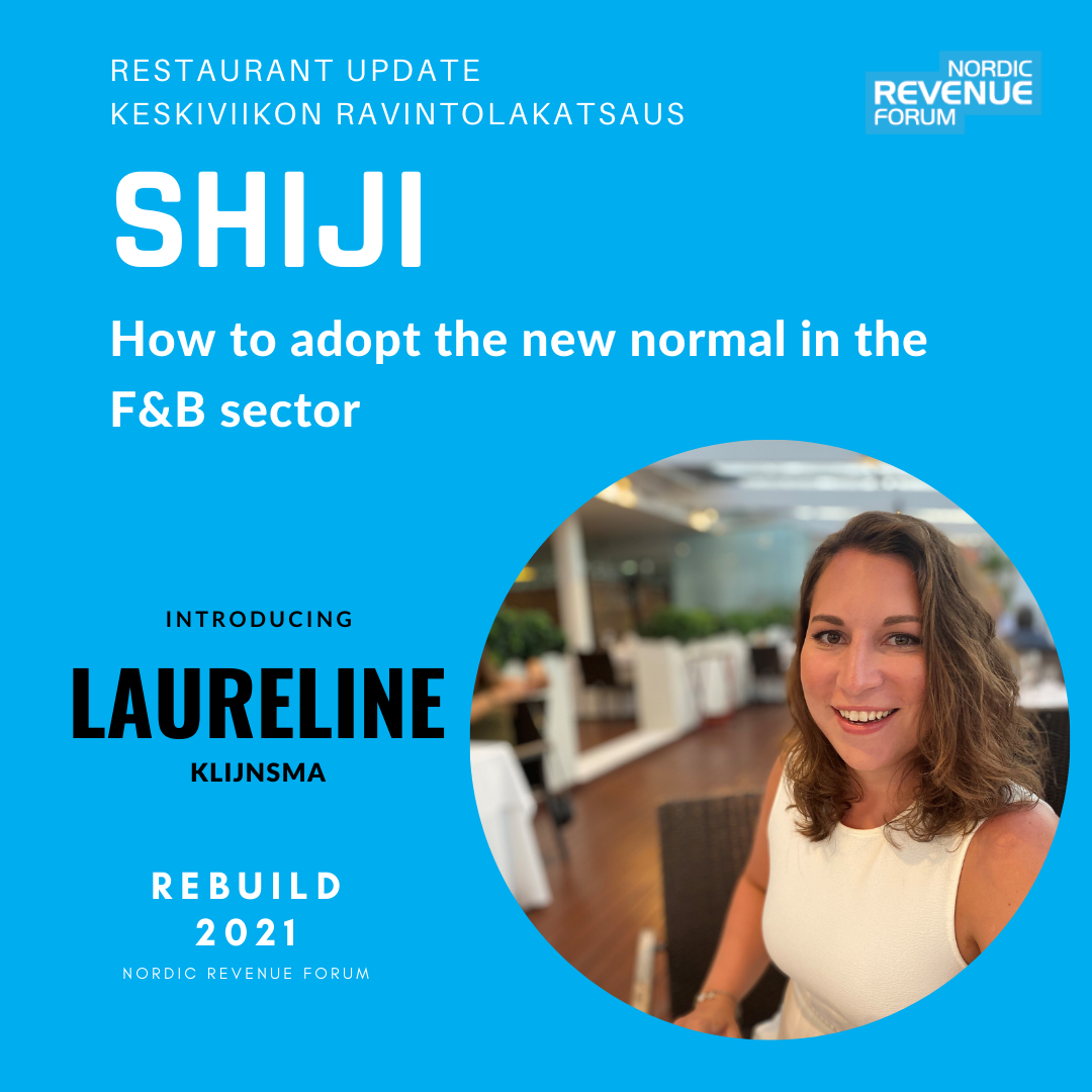 REBUILD2021 - Restaurant Update - How to adopt the new normal in the F&B sector