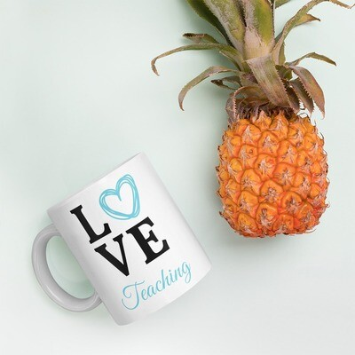 'Love Teaching' Mug