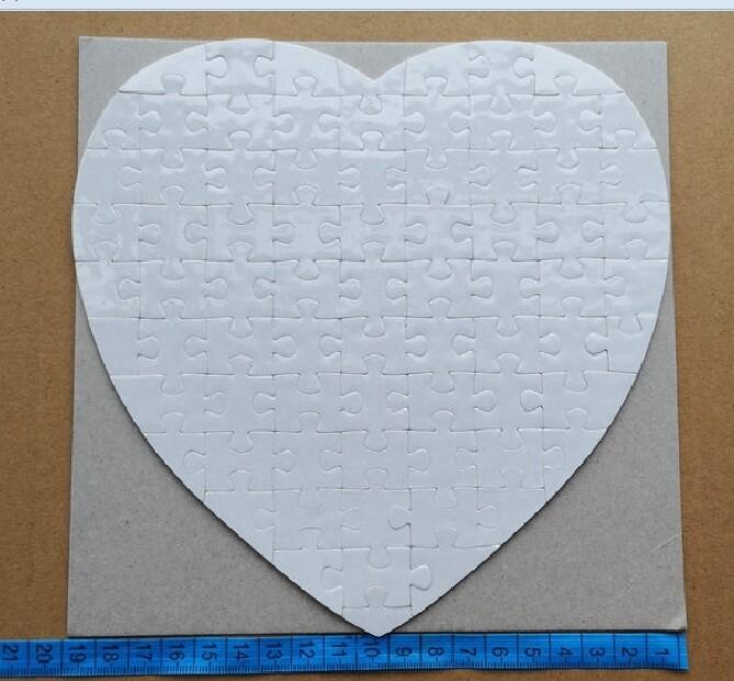 Heart Puzzle  - Sublimation