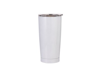 20oz Stainless Steel Tapered Sublimation Tumbler