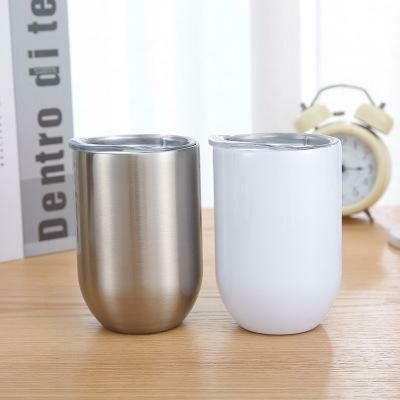 Wine Tumblers - Sublimation - By Sea