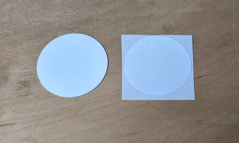 Round Aluminum Discs - 10 Pack - Sublimation