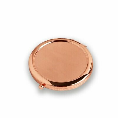 Rose Gold Compact Mirror - Sublimation