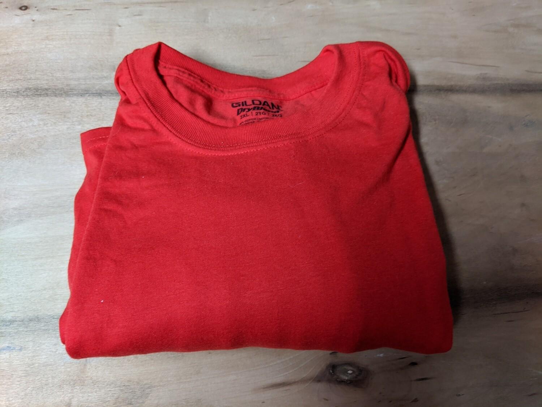 Gildan DryBlend T-Shirt Red