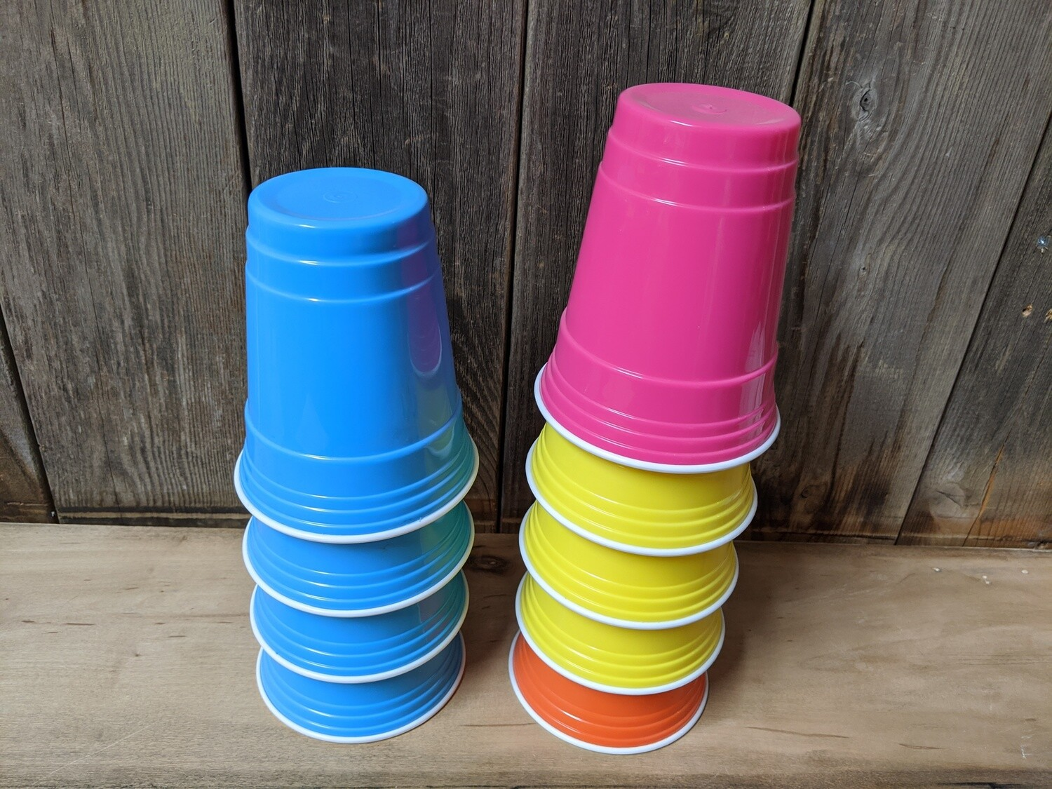 Hard Sided Solo Cups