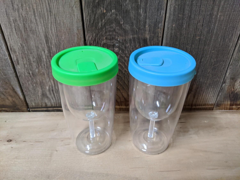 Plastic Wine Tumblers