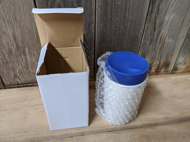 Ceramic Travel Mug with Silicone Lid
