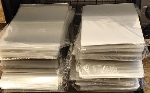 Shrink Wrap Sleeves - 50 pkg (In Stock)