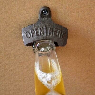 Bottle Opener - Cast Iron - 10 Openers
