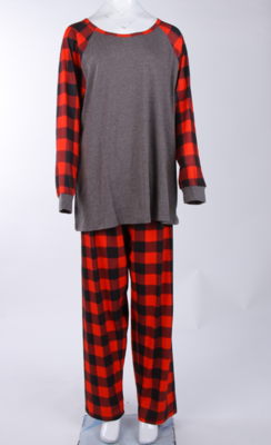 Matching Family PJ's - Buffalo Plaid