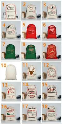 Santa Sacks - In Stock