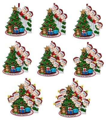 2020 Christmas Ornament Tree
