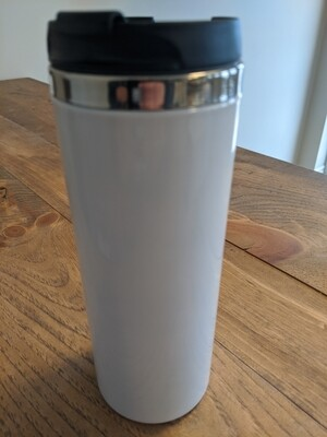 420ml Flip Lid Stainless Steel Tumbler - Sublimation