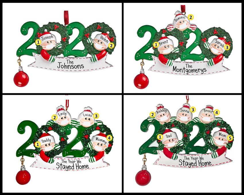 2020 Wreath Ornament