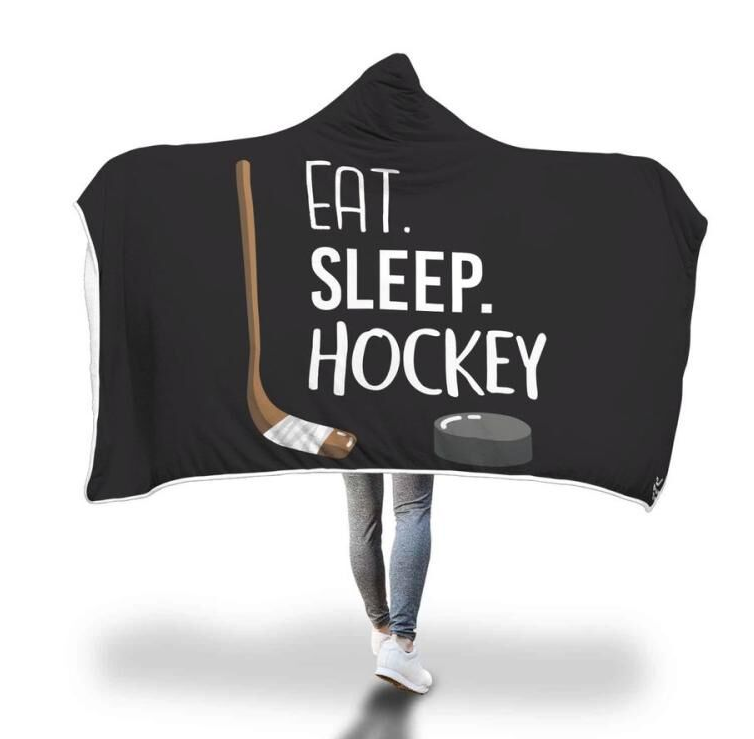 Sports Hooded Blankets (Sea)