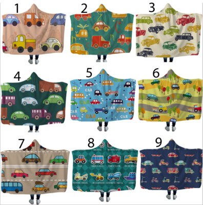 Cars Hooded Blankets (Air)