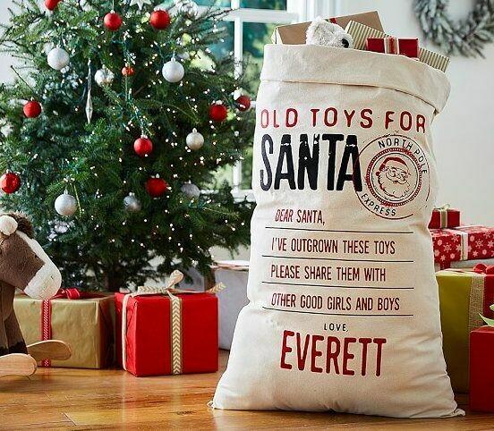 Old Toys for Santa Sacks