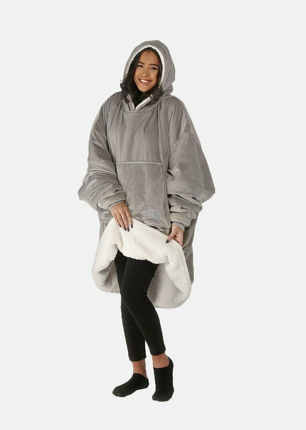 Hooded Sweater Blanket