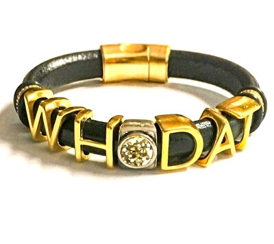 Bracelet/ Women's Who Dat Saints
