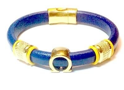 Bracelet/ Men's Omega Purple Leather Single Style