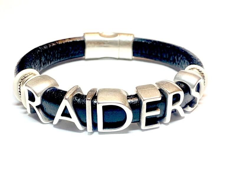 Bracelet   Men's Oakland Raiders