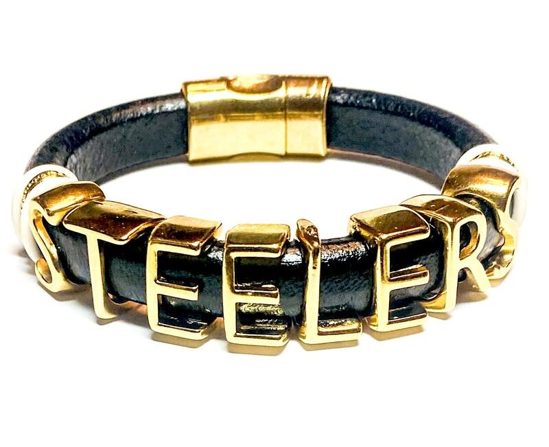 Bracelet   Men's Pittsburgh Steelers