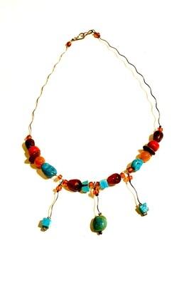 Necklace / Bracelet Multicolored