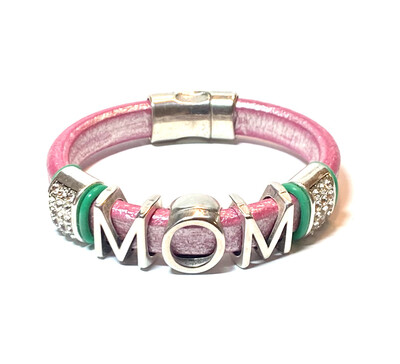 Bracelet | Women's Personalize Leather Bracelet Classy Creations Originals