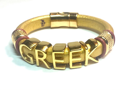 Bracelet | Men's Greek Custom Style
