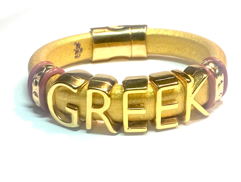 Bracelet | Men's Greek Custom Style