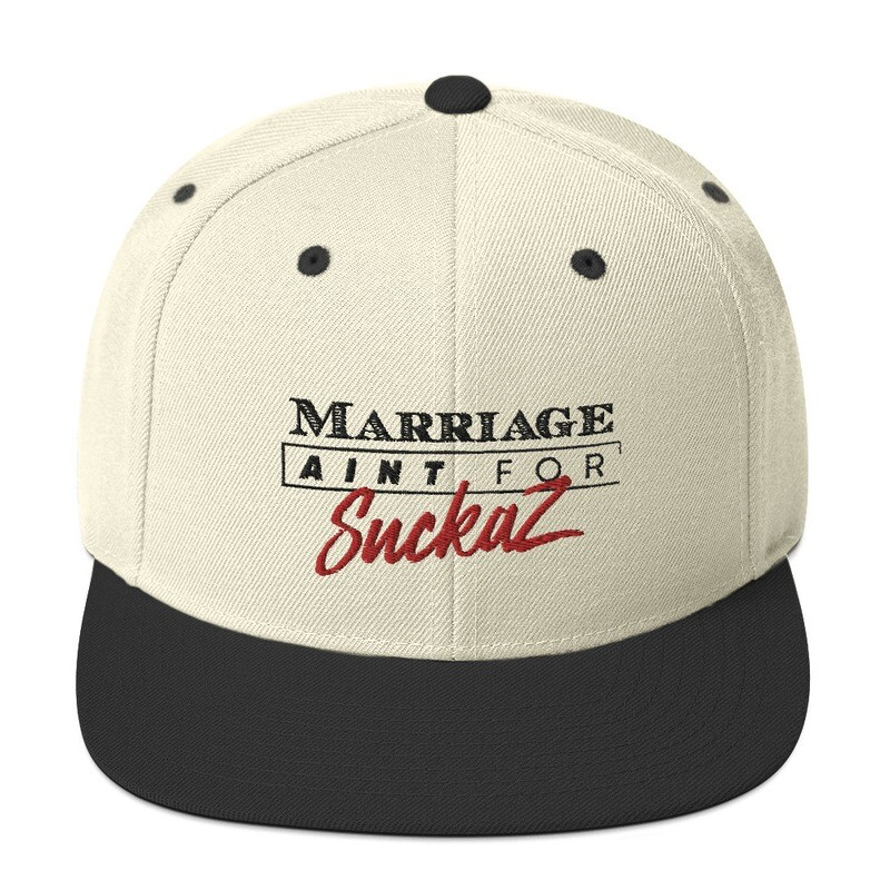 M.A.F.S.(Marriage Ain't for Suckaz) - Snapback Hat