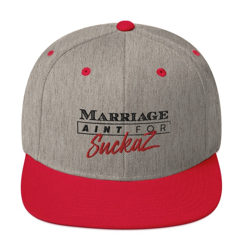 M.A.F.S.(Marriage Aint for Suckaz) - Snapback Hat
