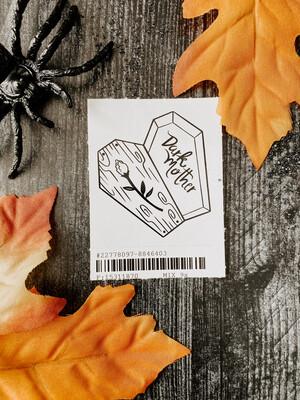 Coffin Sticker