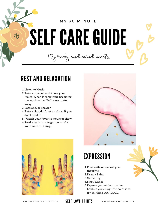 30 Minute Self Care Guide - Digital Download