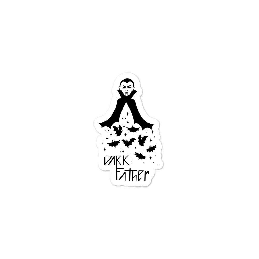 Dark Father Dracula Sticker