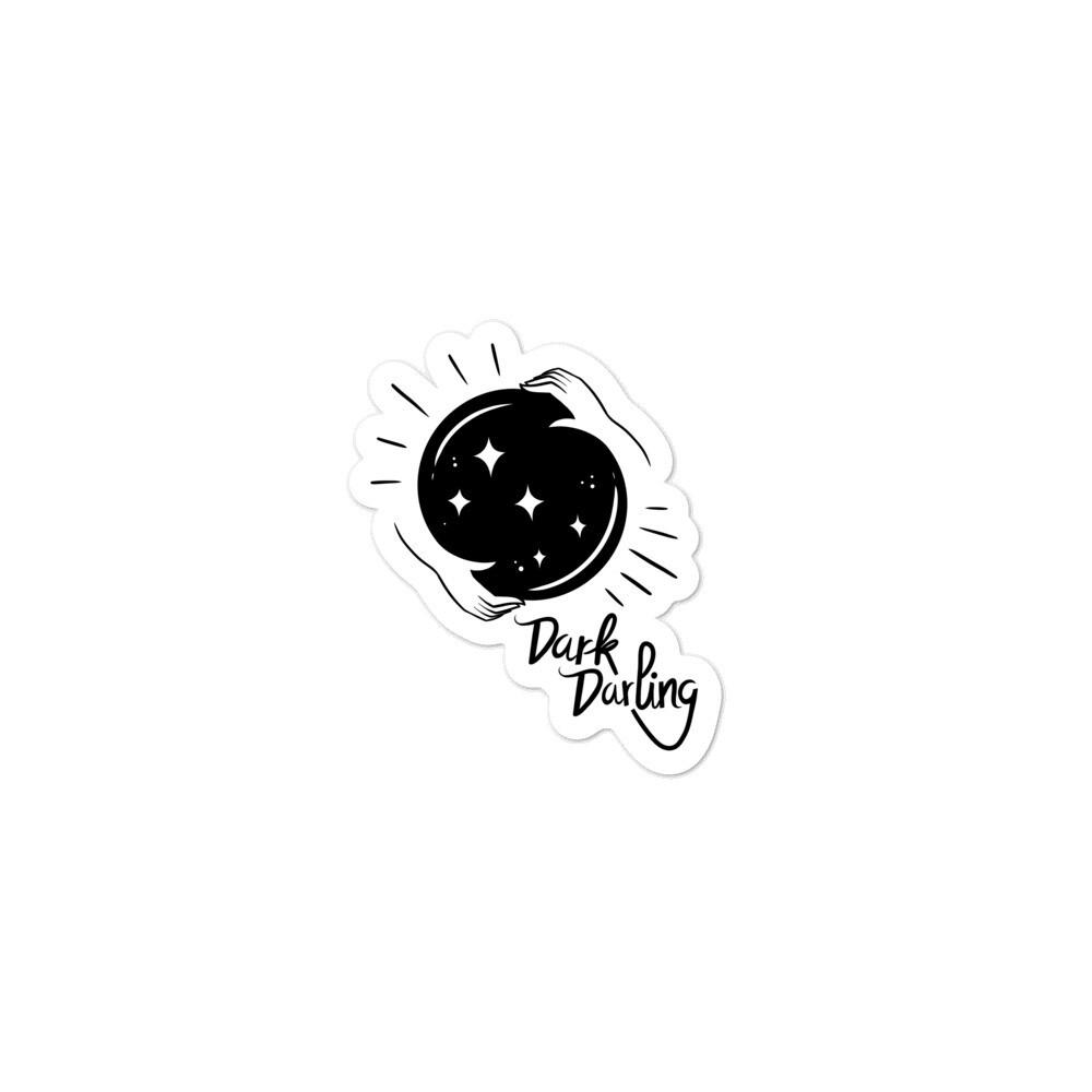 Dark Darling Crystal Ball Sticker