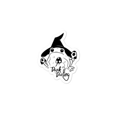 Dark Darling Toad Sticker