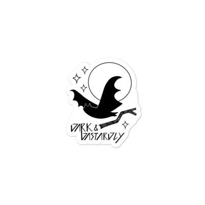 Dark &  Dastardly Bat Sticker