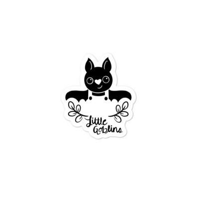 Little Goblins Bat Boy Sticker