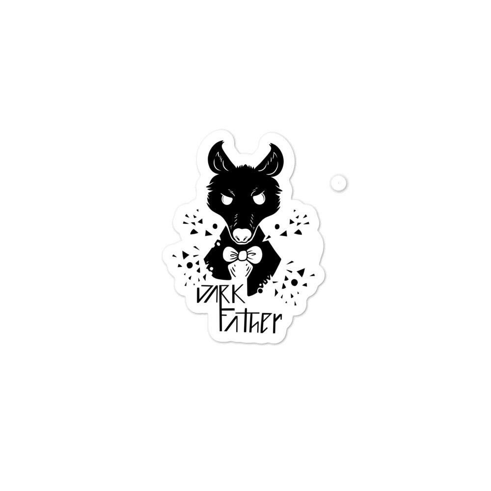 Dark Father Wolf Man Sticker