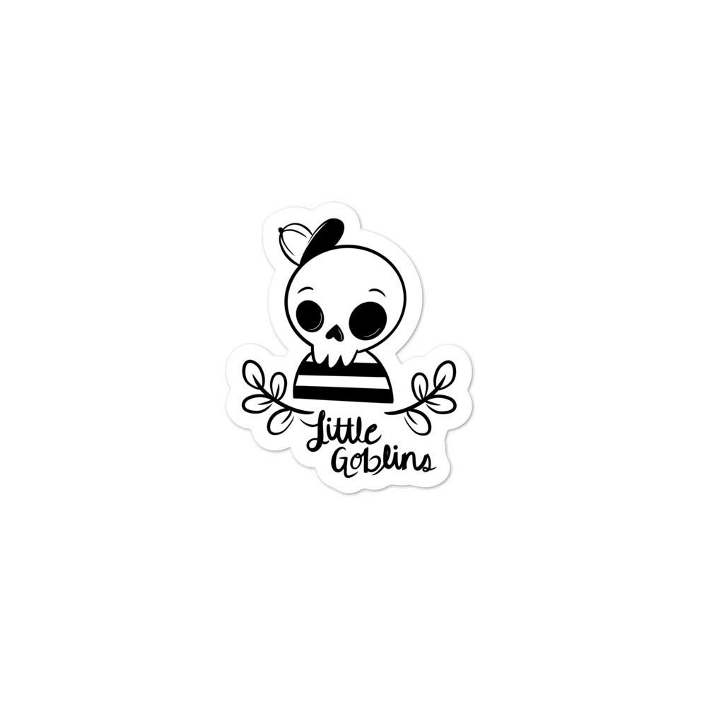 Little Goblins Skeleton Boy Sticker