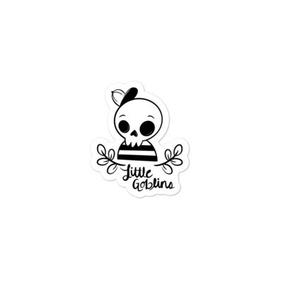 Little Goblins Skeleton Boy Sticker