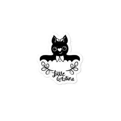 Little Goblins Bat Girl Sticker