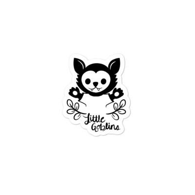 Little Goblins Wolf Pup Sticker