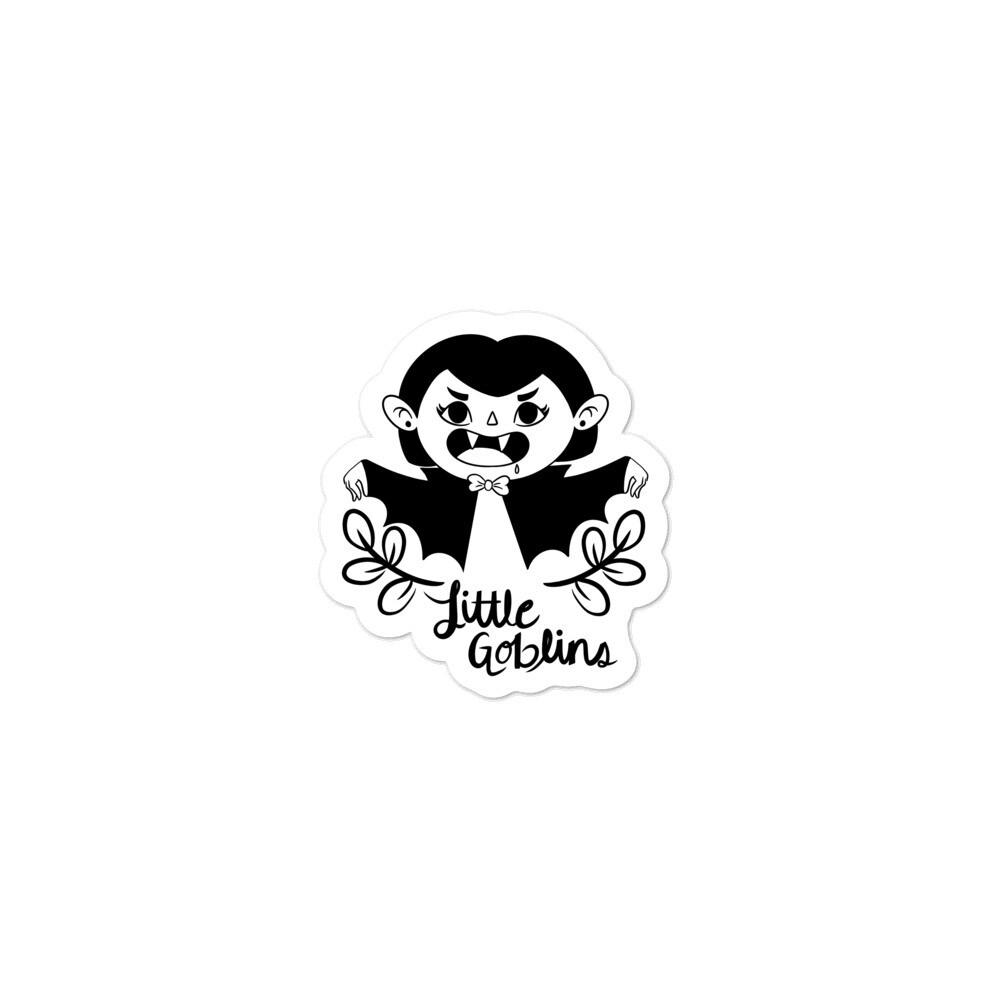 Little Goblins Vampire Girl Sticker